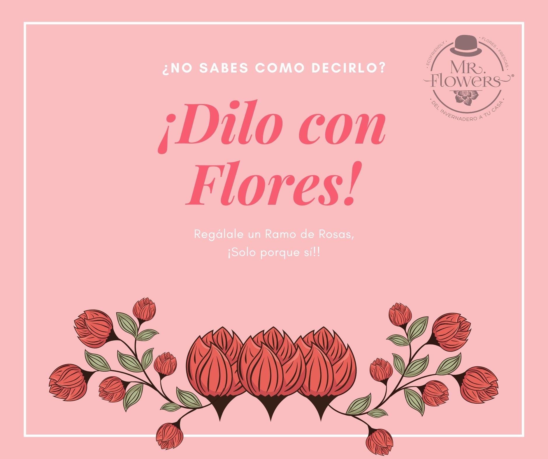 Pale Pink Simple Flowers Facebook Post