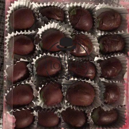Ramo de 20 Uvas con Chocolate